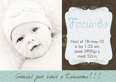 #Nacimiento #recuerdo #BabyShower Thing 1, Babyshower, Crochet Hats, Baptism Favors, Invitation Cards, Invitations, Events, Birth, Fiestas