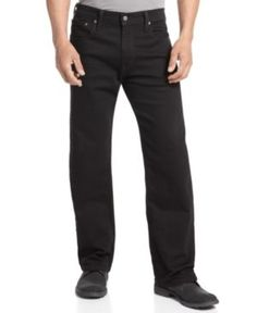 Levi's 569 Loose Straight Fit Jeans - Black 34x30