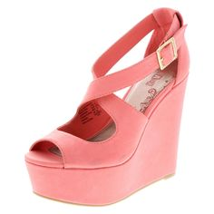 Coral crush! Wedge out this season.