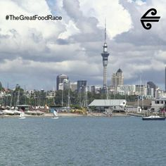 Auckland City #TheGreatFoodRace The Gr, Auckland, Cn Tower, Great Recipes, Travel Inspiration, Travel Destinations, Racing, City, Building