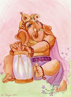 Ganesh.. painting is devotional