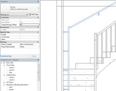 How to Create & Adjust Wall Mounted Railings in Revit® Project. Part 1 | AGACAD TOOLS4BIM