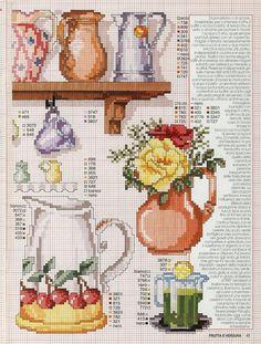 (1) Gallery.ru / Foto # 1 - Enciclopedia Italiana Frutas e verduras - natalytretyak