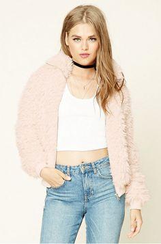 Solange Style Inspo - Shop On The Low. Faux Fur Pink Coat.