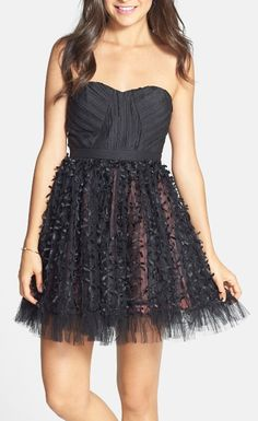 This tulle skirt has a style!