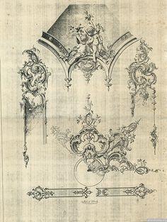 Rococo Motive von Robert Koch