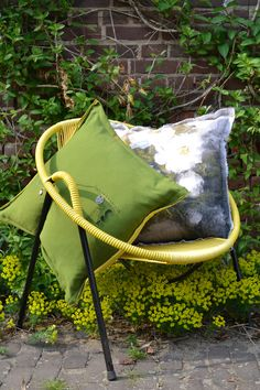 New pillows from Stapelgoed, feel the summer.....