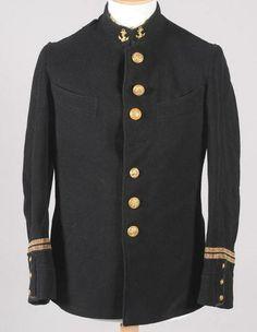 Tunique de Lieutenant d'infanterie de marine, vers 1900