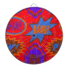 SO fun!!  Wham Bam Boom Dartboart available in The Liberty Dog Store Online (a store with a cause).