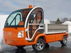 The Nemo Electric Truck is a Small, Earth-Friendly Vehicle #eco #vehicles trendhunter.com