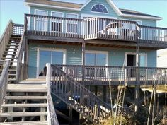 Surf City, North Carolina Vacation Rental by Owner Listing 219508 no shade but can we make some??