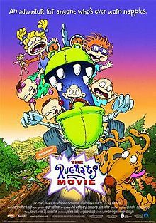 The Rugrats Movie...you know you cried a little when everyone left Tommy and his brother under the tree.