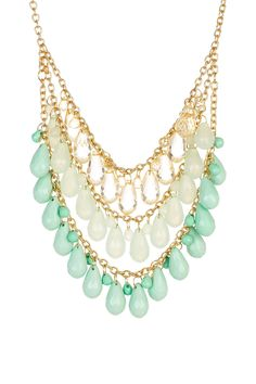 Olivia Welles Beaded Collar Necklace