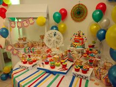 #circus #cumpleaños #eventoinfantil #lola #ambientación #candybar #circo #personajescircenses #muchocolor #muchaalegría #eventosinfantiles