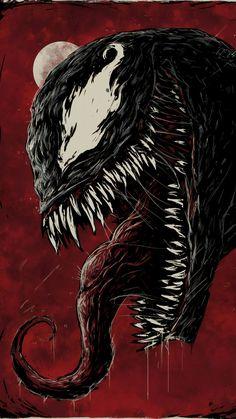 Venom New Sketch Poster Venom Comics, Marvel Venom, Marvel Villains, Marvel Comics Art, Deadpool Wallpaper, Avengers Wallpaper, Geeks, Venom Art, Venom Movie