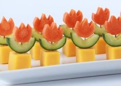 SUPER MARIO FIRE FLOWER APPETIZERS – NERDY NUMMIES | Paleo Diet