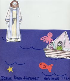 Crafts For Christ: Jesus Walks on Water
