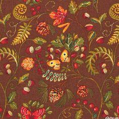 Wild Woods - Autumn Butterflies - Nutmeg Brown