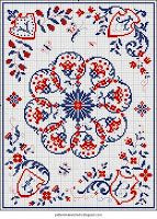 Free Easy Cross, Pattern Maker, PCStitch Charts + Free Historic Old Pattern Books: Sajou No 186