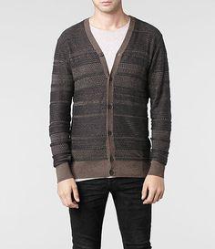 AllSaints Abbott Cardigan | Mens Sweaters