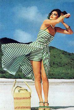 Rico Puhlman's shot for Bazaar, 1975