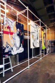 All Day Out hiphop festival_ Design by andbut space design #Festival #Exhibition #Design