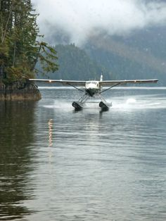 Took a float plane from Ketchikan to Hollis to visit Aunt Sherry & family