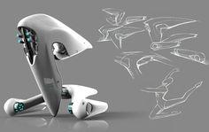 Un designer imagine le futur vaisseau spatial de la NASA