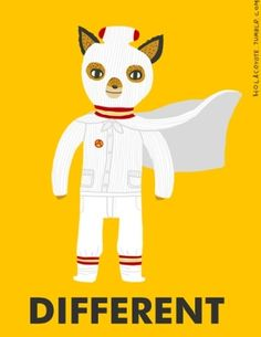"""Wes Anderson's 'The Fantastic Mr.Fox' movie art """"Different"""" by Ivonna Buenrostro by ballerzz14"""