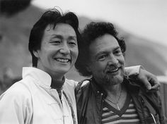 Al Huang and Paul Horn at ESALEN INSTITUTE