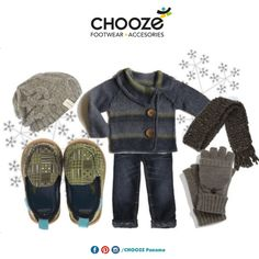 Un par de Chooze con tu sueter y bufanda favorita harán que los traviesos de casa se vean fashion!