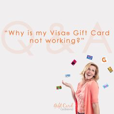 Find out why your Visa gift card just won't work. Can it be used to purchase gas at the gas station?