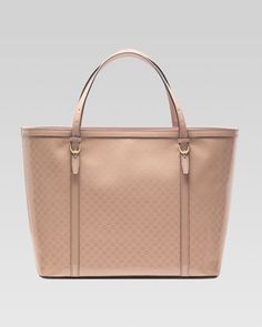Gucci Nice Microguccissima Patent Leather Tote, Beige by Gucci at Neiman Marcus.Php 58,870.00