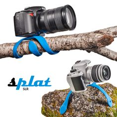 Splat is a flexible tripod that adjusts to any surface and can hold compact DSLR cameras in countless positions. It has five extremely durable legs that can be contorted and adjusted to hold DSLR cameras. Continue reading →