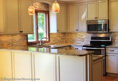 quad level kitchen remodeling | Geneseo- Brighter and Bolder From Corner to Corner