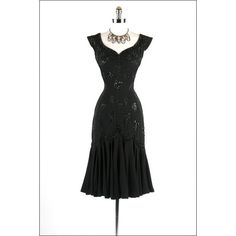 1950's Clothes / Vintage 50s dress via Polyvore