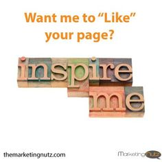 "Want me to ""Like"" your Page"