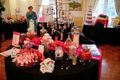 Sweet Candy Buffet Birthday Candles, Birthday Cake, Candy Buffet, Buffets, Dessert Bars, Beautiful Things, Bridal Shower, Centerpieces, Deserts