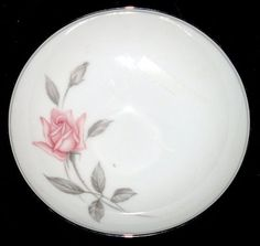 China Noritake Rosemarie 6044 - 4 Dessert Bowls on eBay!