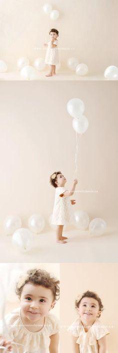girl and baloon