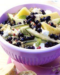 Quinoa salat essen und trinken