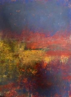 oil and cold wax abstract landscapes lisamannfineart.com