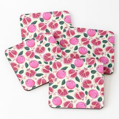 'pomegranates' Coasters by Nici-Gabriel Gabriel, Iphone Wallet, Iphone Cases, Framed Prints, Canvas Prints, Designs, Pomegranate, Throw Pillows, Tote Bag
