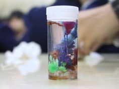 Chemical Crystal Gardens,  a science club or fun activity about the colours of transition metals!