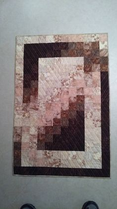 Monochromatic Quillt Wall Hanging Table Topper Quiltsy Idaho