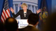 Zwischenstaatlich statt multilateral: May wirbt für Handelsabkommen mit USA