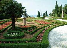 il parco del castello di miramare