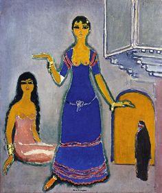 Harem by Dutch Painter Kees van Dongen - Henri Matisse, Emil Nolde, Art Fauvisme, Maurice De Vlaminck, Art Of Noise, Rembrandt, Raoul Dufy, Great Works Of Art, Dutch Painters