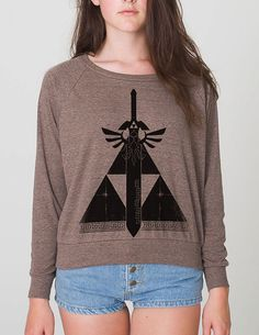 Tired of Legend of Zelda shirts that only have the Triforce symbol?