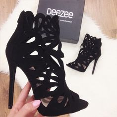 23 Shoes Heels For Your Wardrobe This Summer - Shoes Fashion & Latest Trends, Heels Top Shoes Heels. Pretty Shoes, Beautiful Shoes, Cute Shoes, Prom Heels, Pumps Heels, Stiletto Heels, High Heels For Prom, Caged Heels, Suede Pumps
